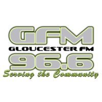 Logo of radio station GFM 96.6 FM