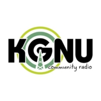 Logo of radio station KGNU