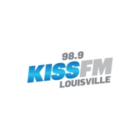 Logo of radio station WNRW Kiss FM Louisville
