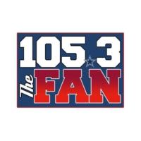 Logo de la radio KRLD-FM 105.3 The FAN