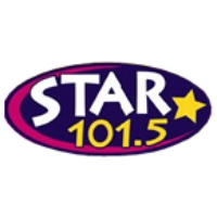 Logo of radio station KPLZ Star 101.5