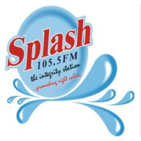Logo of radio station Splash 105.5 FM Ibadan