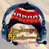 Logo of radio station PENTAGRAMA LATINOAMERICANO