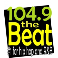 Logo of radio station KBTE The Beat 104.9