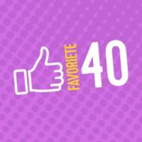Logo of radio station Q-Favoriete 40