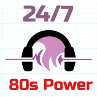 Logo de la radio 24/7 - 80s Power