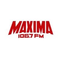 Logo of radio station XHOJ Máxima 106.7 FM