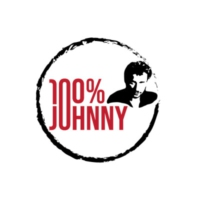 Logo of radio station 100 % Johnny