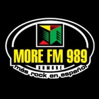 Logo of radio station More FM 98.9