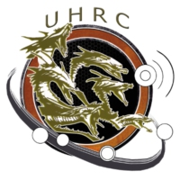 Logo of radio station UHRC