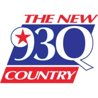 Logo of radio station KKBQ The New 93Q