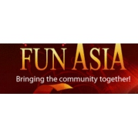 Logo of radio station KZMP Fun Asia