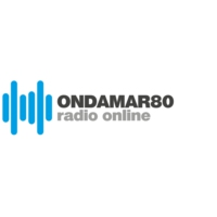Logo of radio station ONDAMAR80