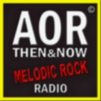 Logo of radio station AOR Then and Now