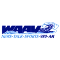 Logo of radio station WAAV 980