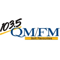 Logo of radio station CHQM - QMFM