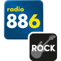Logo of radio station Radio 88.6 Rock