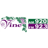 Logo of radio station KVIN The Vine