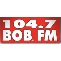 Logo of radio station KIKX Bob 104.7