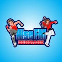 Logo of radio station Rise FM Denmark