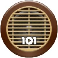 Logo of radio station 101.ru - Swing