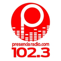 Logo of radio station Presencia Radio 102.3