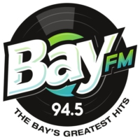 Logo of radio station KBAY 94.5 Bay FM