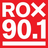 Logo of radio station ROX 90.1