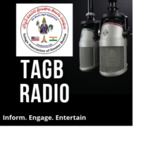 Logo of radio station TAGB Radio