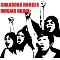 Logo of radio station CHANSONS ROUGES MOSAIK RADIO