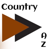 Logo of radio station A-Z Country