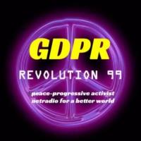 Logo of radio station GDPR- Revolution 99