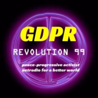 Logo of radio station GDPR- Revolution 99