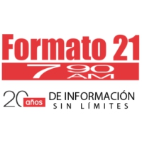 Logo of radio station XERC Formato 21 790 AM