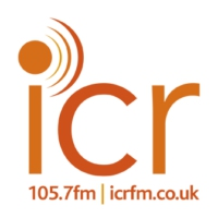 Logo of radio station ICR 105.7 FM