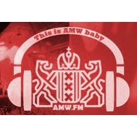 Logo of radio station AMW Amsterdams Most Wanted