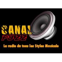 Logo of radio station canal fuzz radio