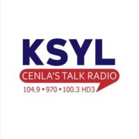 Logo of radio station KSYL 970