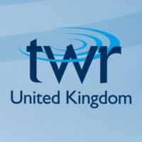 Logo of radio station TWR - UK