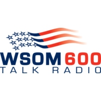 Logo of radio station WSOM Talk Radio 600