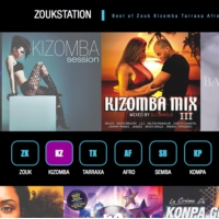 Logo of radio station Zoukstation Kizomba