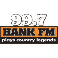 Logo of radio station KNAH 99.7 Hank FM