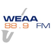 Logo de la radio WEAA Morgan State University