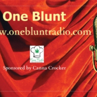Logo of radio station One Blunt Radio