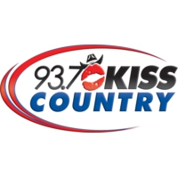 Logo de la radio KSKS 93.7 Kiss Country