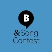 Logo of radio station & Eurovision Song Contest. Von barba radio