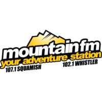 Logo of radio station CISQ-FM Mountain FM