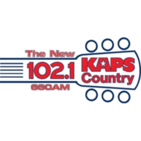 Logo of radio station KAPS Country