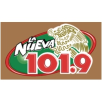 Logo of radio station KSCA La Nueva