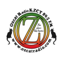 Logo of radio station KZCT Ozcat Radio 89.5